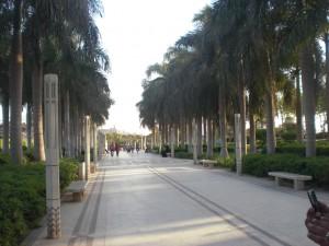 Palmenallee Azhar Park