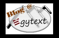 Blog @ Egytext - Der Ägyptenblog